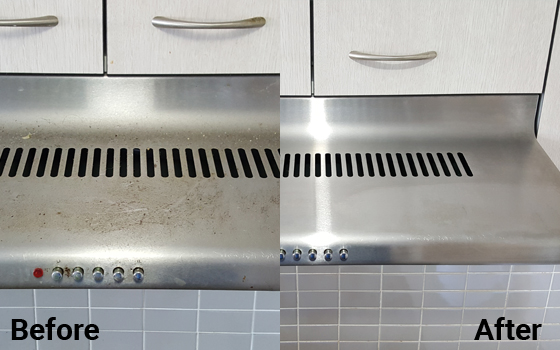 See how we make kitchen tops squeaky clean